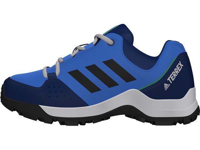 adidas TERREX Hyperhiker Low Hiking Shoes Kids, glory blue/core black/signal green